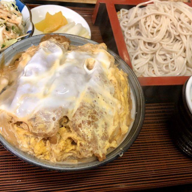 蕎麦処山茂登 カツ丼セット